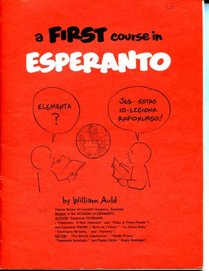FIRST COURSE IN ESPERANTO - FREE DOWNLOAD - Click Image to Close