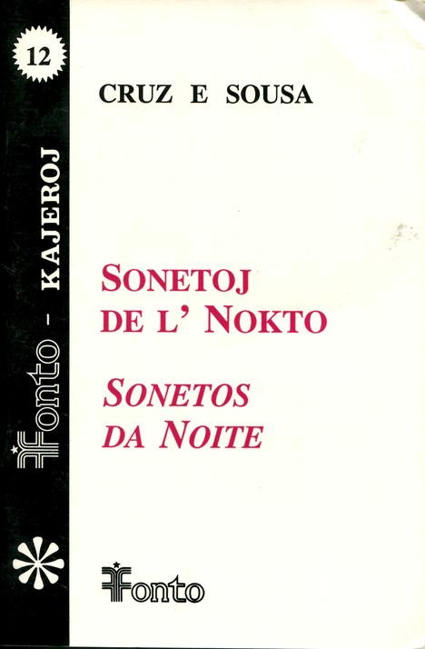 SONETOJ DE L' NOKTO/SONETOS DA NOITE (direct from UEA) - Click Image to Close